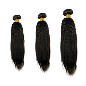 Kinky Straight Hair Bundle Deals